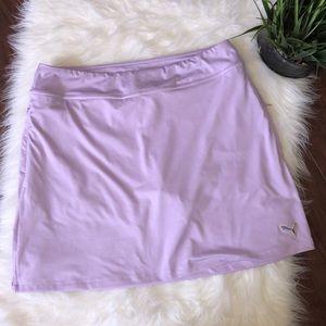 Puma Solid Knit Light Purple Golf Short Skirt